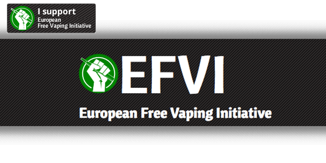 I Support European Free Vaping Initiative