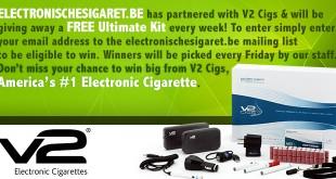 Elektronische Sigaret Giveaway