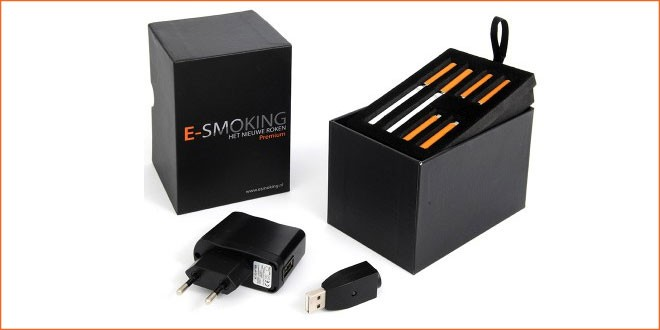e-smoking premium kit