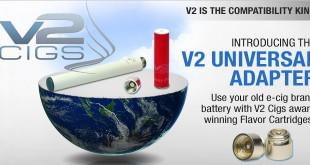 V2 Cigs naar Green Smoke Adapter