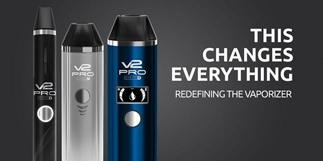 De nieuwe V2 Pro Vaporizers van V2 Cigs