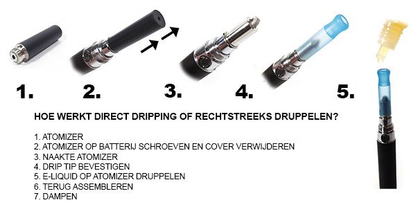 Elektronische Sigaret: Direct Dripping
