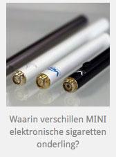 Verschillen tussen klassieke elektronische sigaretten