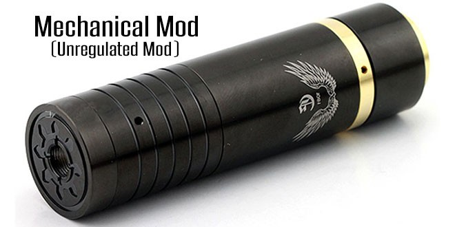 Unregulated Mods (Mechanical Mods) in detail | Electronische