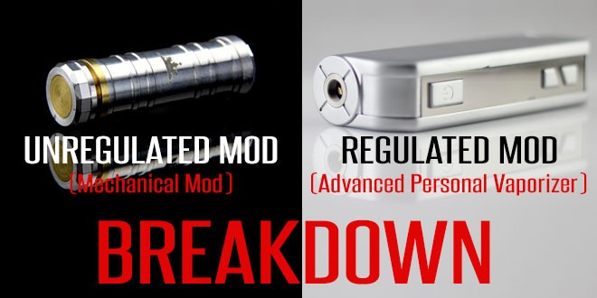 Regulated mod vs Unregulated mod