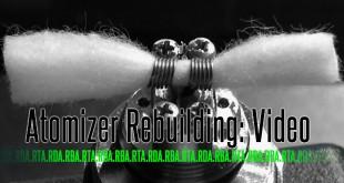 Rebuildable Atomizers: Praktijk video