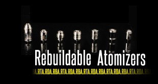 Rebuildable Atomizers - RBA