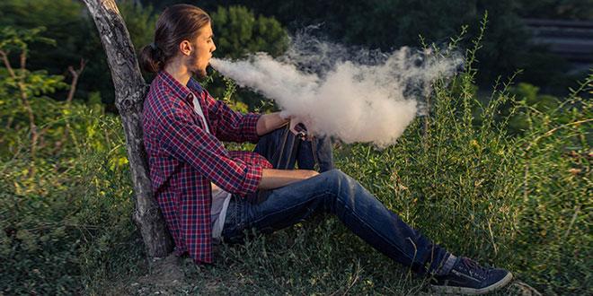 E-sigaret damp bevat weinig VOS