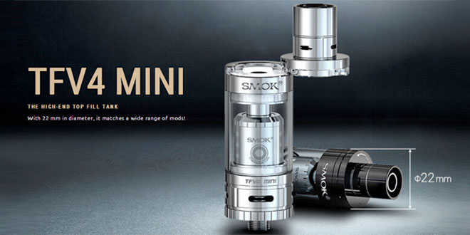 SMOK TFV4 Mini Review