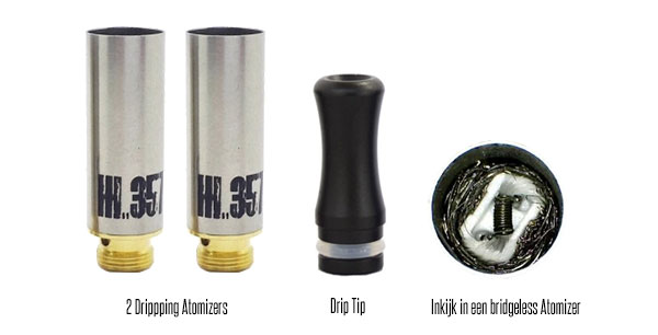 Bridgeless Dripping Atomizer