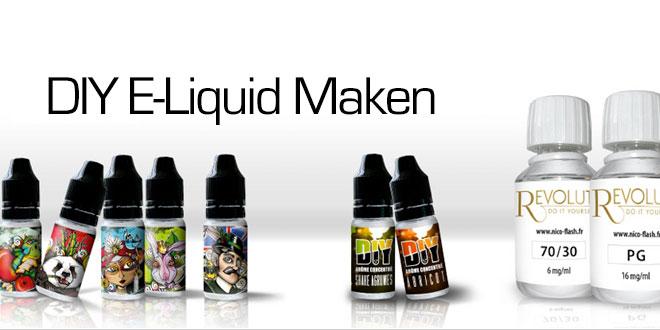 DIY - Zelf E-liquid maken
