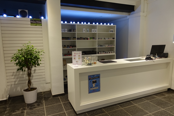 Sfeerbeelden Vape Store Hasselt